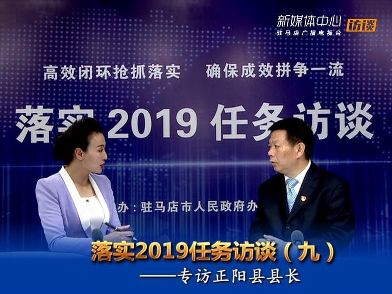 落实2019任务访谈--正阳县人民政府县长王东征
